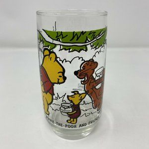 Vintage Sears Winnie the Pooh and Friends Glass